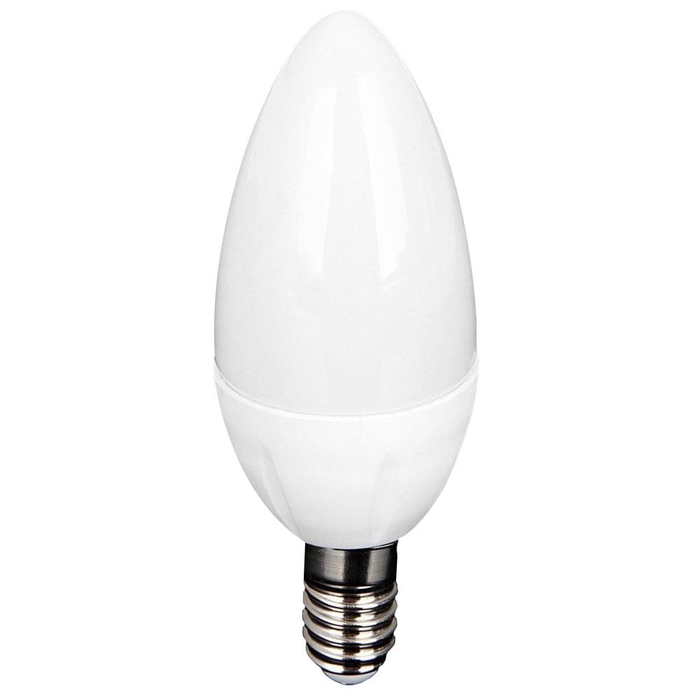 Led Candle Chandeliers Inside 2019 10pcs/lot E14 Led Candle Bulb Ac 220v Led Light Chandelier Lamp (View 19 of 20)
