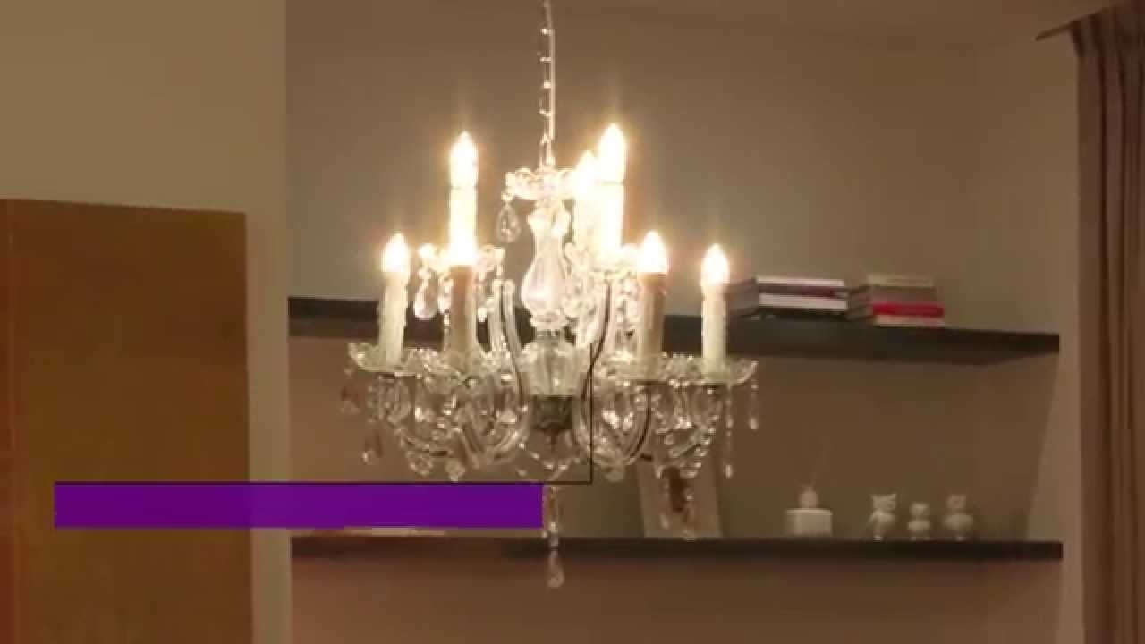 Led Candle Chandeliers With Well Liked Philips Led Decorative Candle Bulbs – Youtube (View 14 of 20)