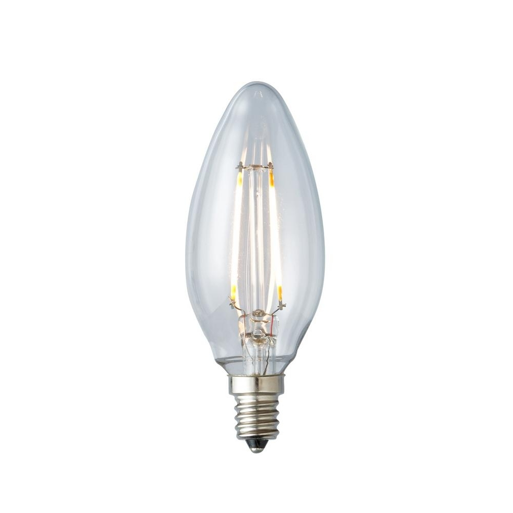 Led Candle Light Bulbs Cool White • Led Lights Decor Pertaining To Recent Led Candle Chandeliers (View 7 of 20)