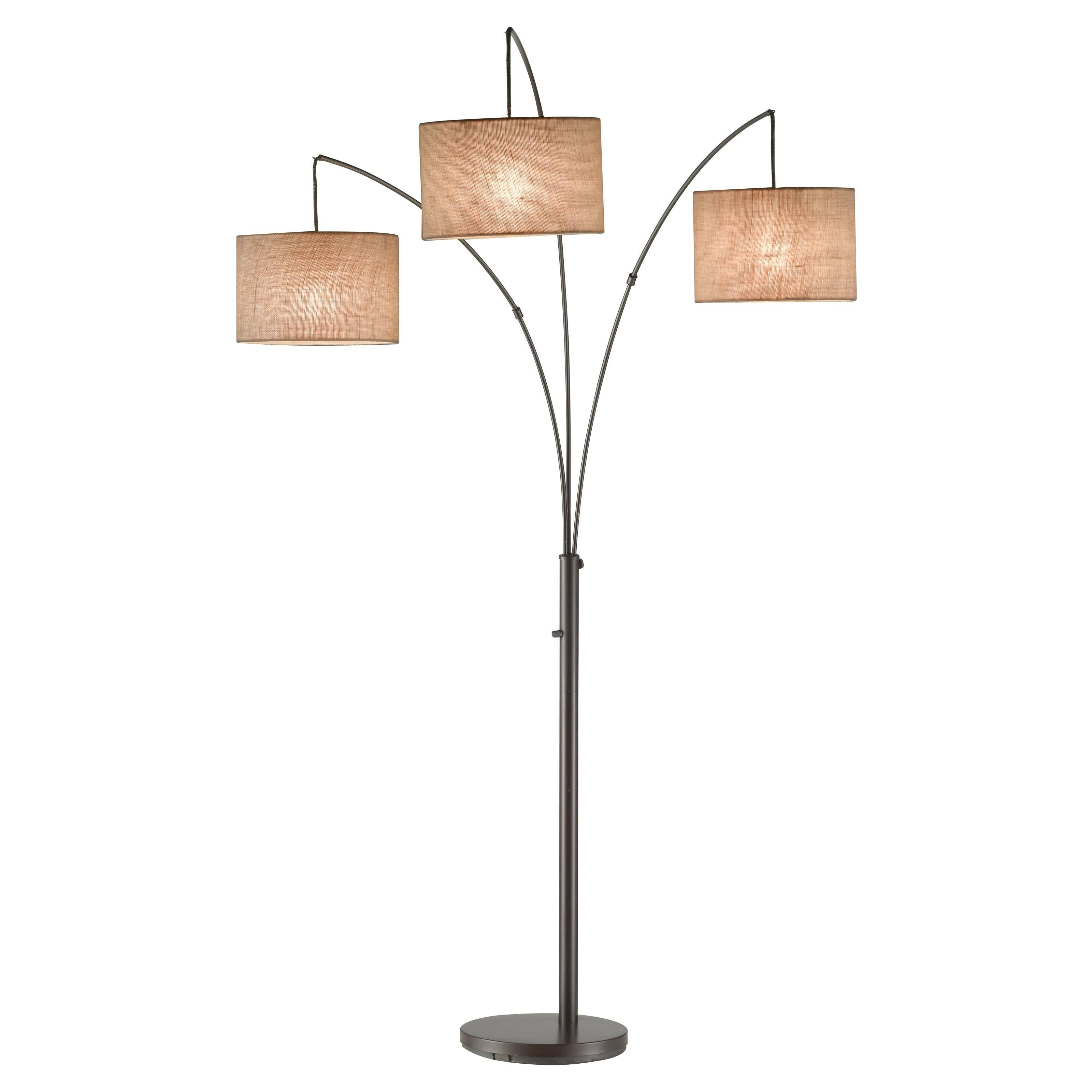 Light : Chandelier Shades Bathroom Chandeliers Led Floor Lamp With Trendy Black Chandelier Standing Lamps (View 12 of 20)
