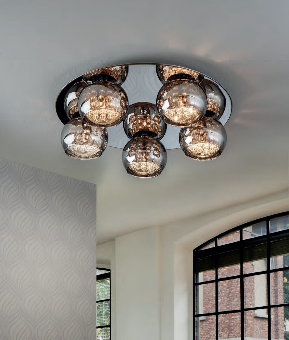 View Photos Of Modern Chandeliers For Low Ceilings Showing 5 Of 20 Photos
