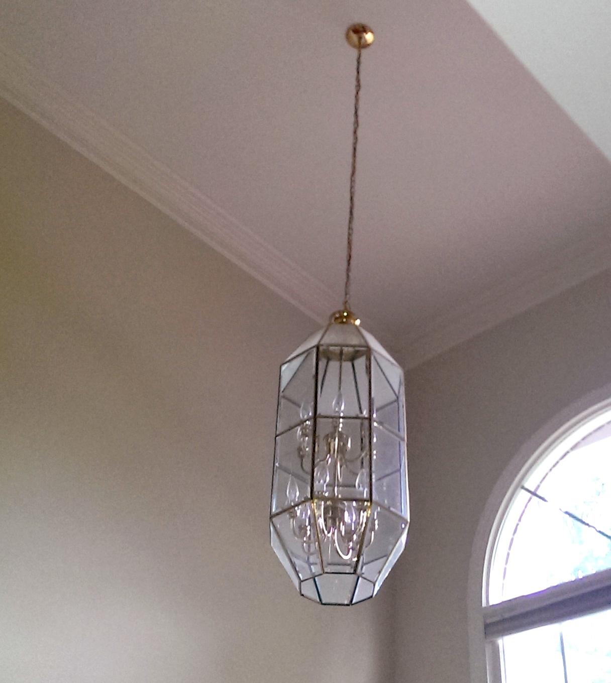 Light Fixture : Large Foyer Chandeliers Light Fixtures For Low Inside Recent Modern Chandeliers For Low Ceilings (View 7 of 20)