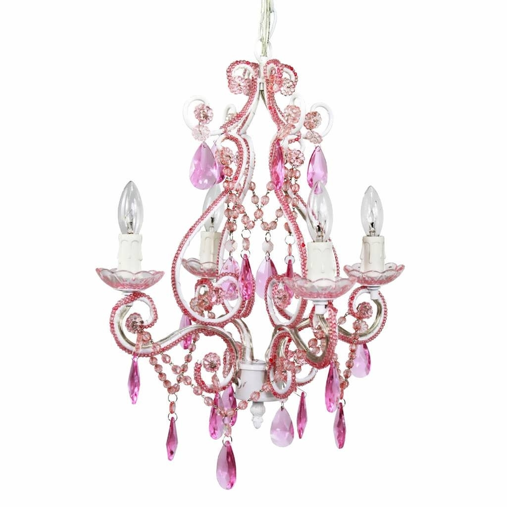 Light : Fuchsia Pink Gypsy Chandelier Baby Large Fabulous Throughout Well Known Large Cream Chandelier (View 13 of 20)