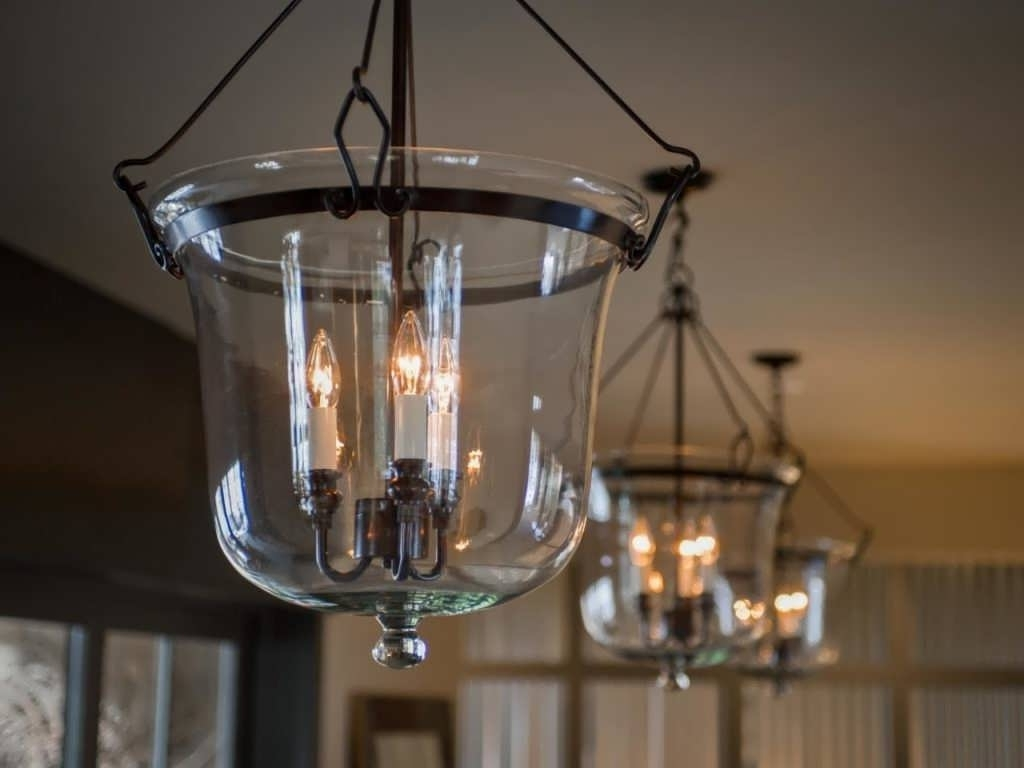 Light : Lowes Pendant Lights Hanging Lamps Light Fixtures Exterior With Regard To Widely Used Low Ceiling Chandelier (View 14 of 20)