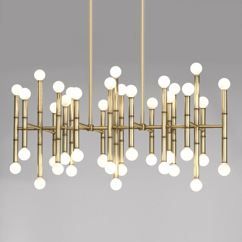 Lighting : Contemporary Designer Chandeliers Modern Bathroom Pertaining To Recent Modern Wrought Iron Chandeliers (View 5 of 20)