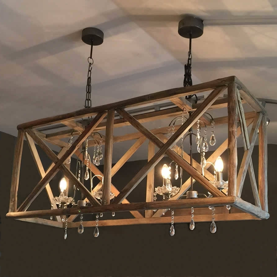 Lighting: Fantastic Wooden Chandeliers For Home Accessories Ideas Throughout Well Known Chandelier Accessories (View 6 of 20)