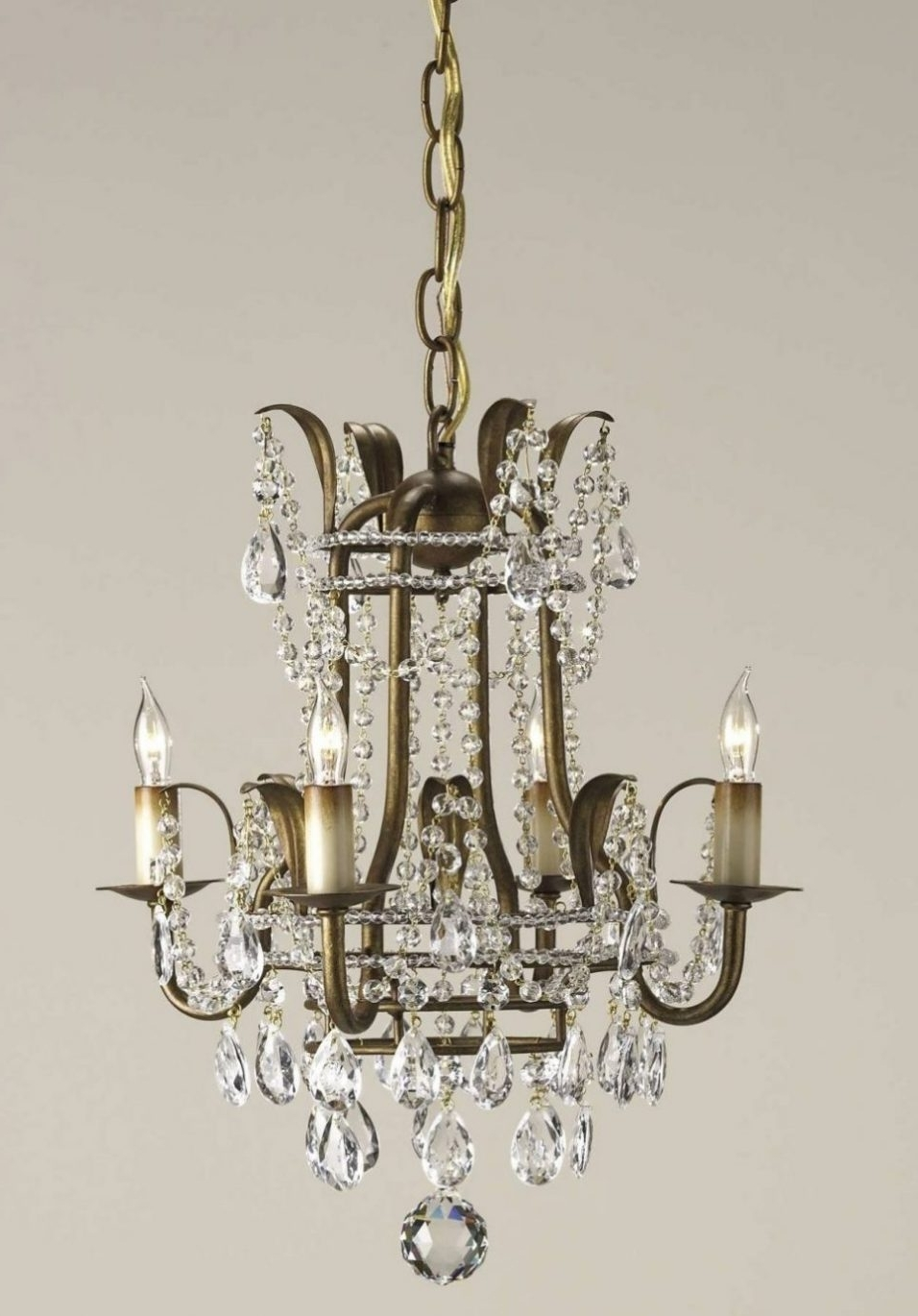 Lighting : Vintage Modern Chandelier Contemporary Crystal Chandelier Regarding Preferred Modern Wrought Iron Chandeliers (View 14 of 20)