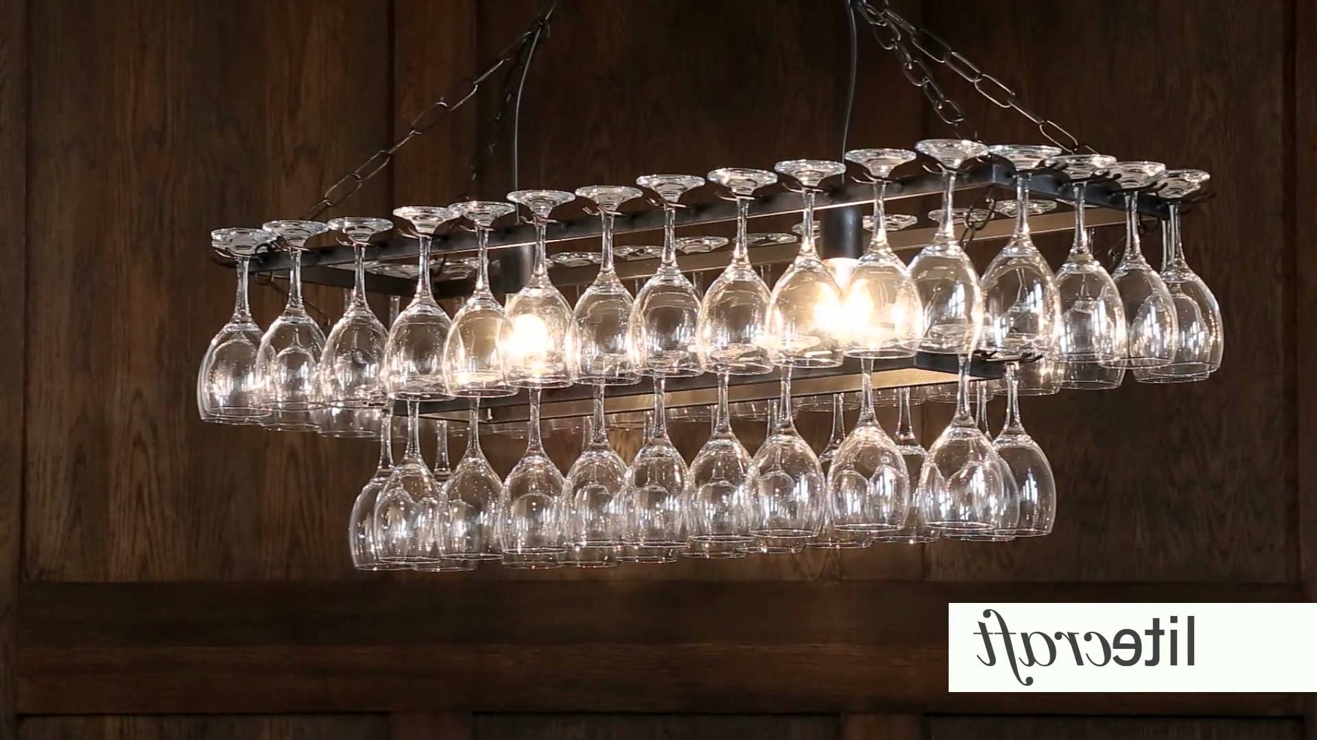 Litecraft – Lighting Your Home – Youtube For Popular Glass Chandeliers (View 11 of 20)