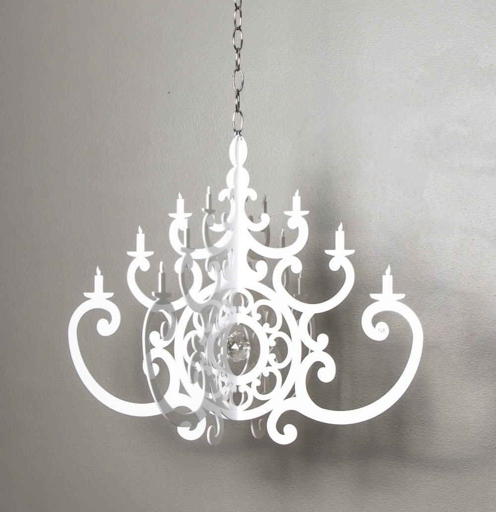 Little Crown Interiors Intended For Acrylic Chandelier Lighting (View 9 of 20)