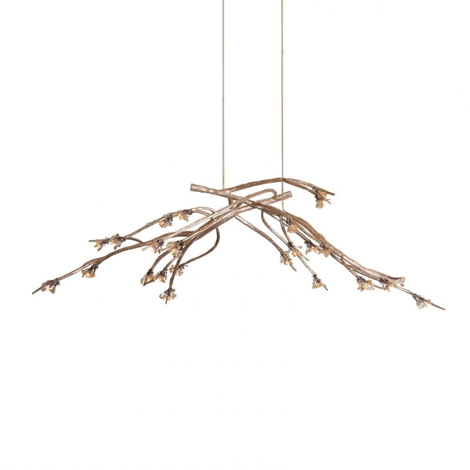 Lucinda Branch Chandelier Within Best And Newest Chandeliers Design : Amazing Modern Chandeliers For Dining Room Tree (View 9 of 20)