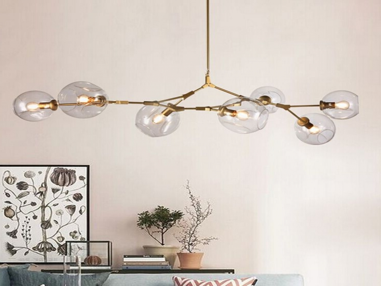 Lucinda Branch Chandelier Within Well Known Lucinda Branch Chandelier Chandelier Led Branch Reviews Online (View 12 of 20)