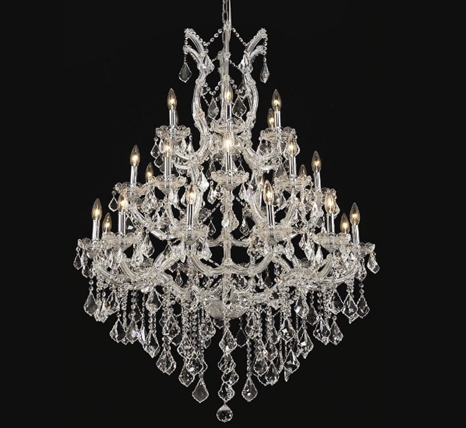Maria Theresa Collection 28 Light Extra Large Crystal Chandelier Throughout Current Extra Large Crystal Chandeliers (View 15 of 20)