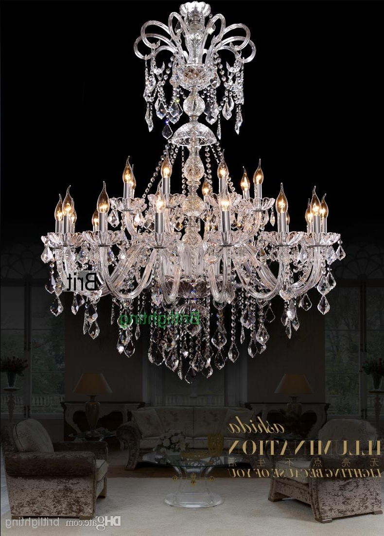 Maria Theresa Collection Extra Large Crystal Chandelier (View 16 of 20)