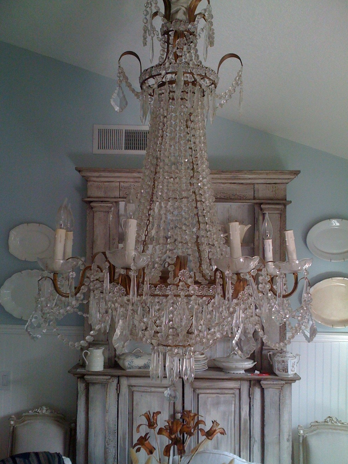 Massive Chandelier In Current Love This Whole Look Of The Gustavian Styling And The Massive (View 16 of 20)