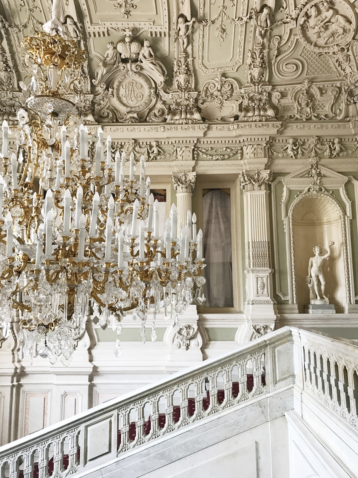 Massive Chandelier Throughout Preferred The Massive Chandelier In Peterhof Palace St (View 20 of 20)