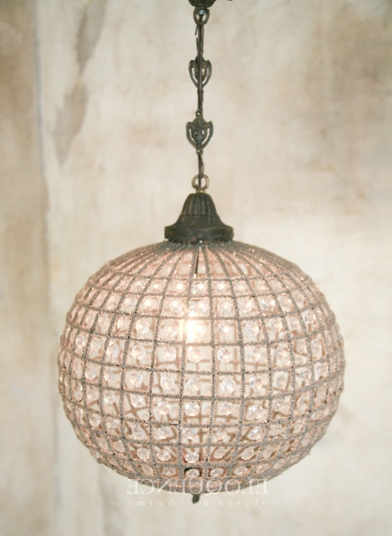 Medium For Latest Eloquence Globe Chandelier (View 2 of 20)