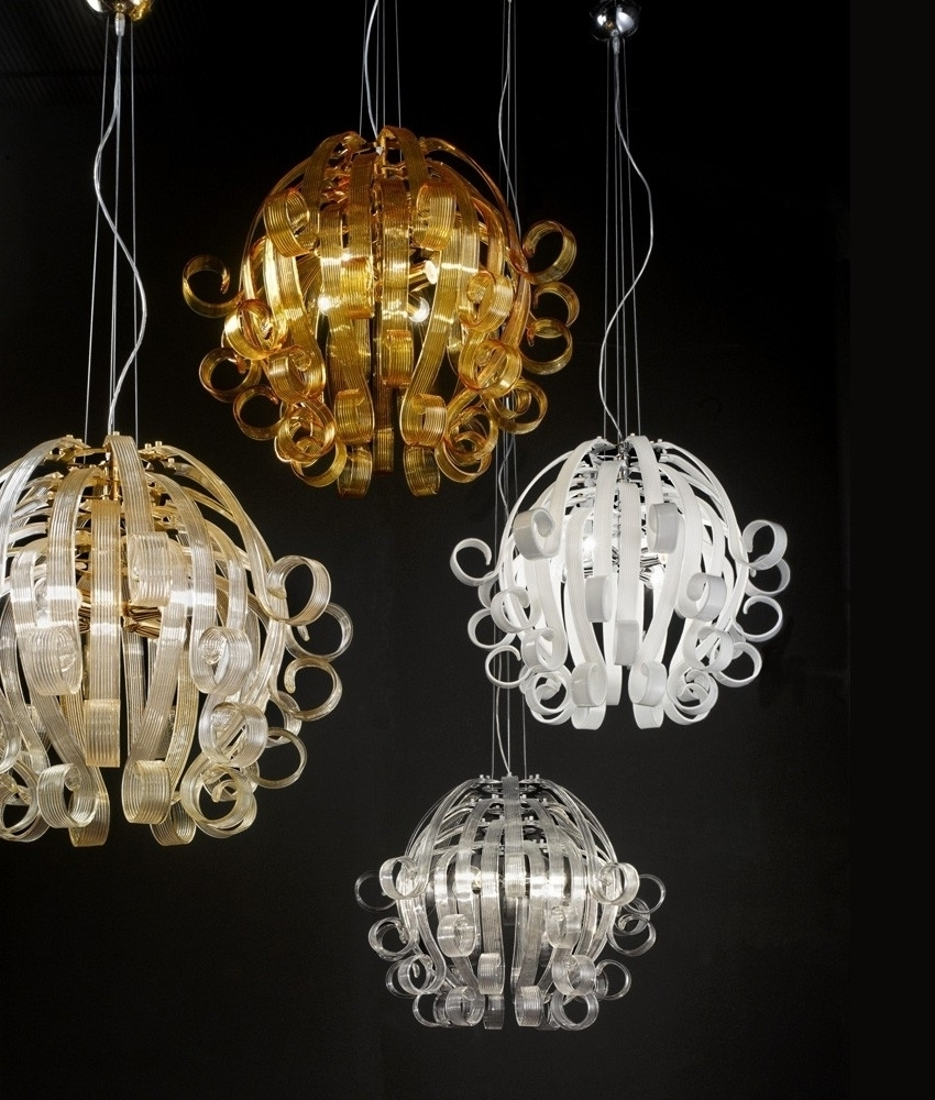 Medusa Murano Glass Chandelier Pertaining To Famous Colourful Chandeliers (View 14 of 20)