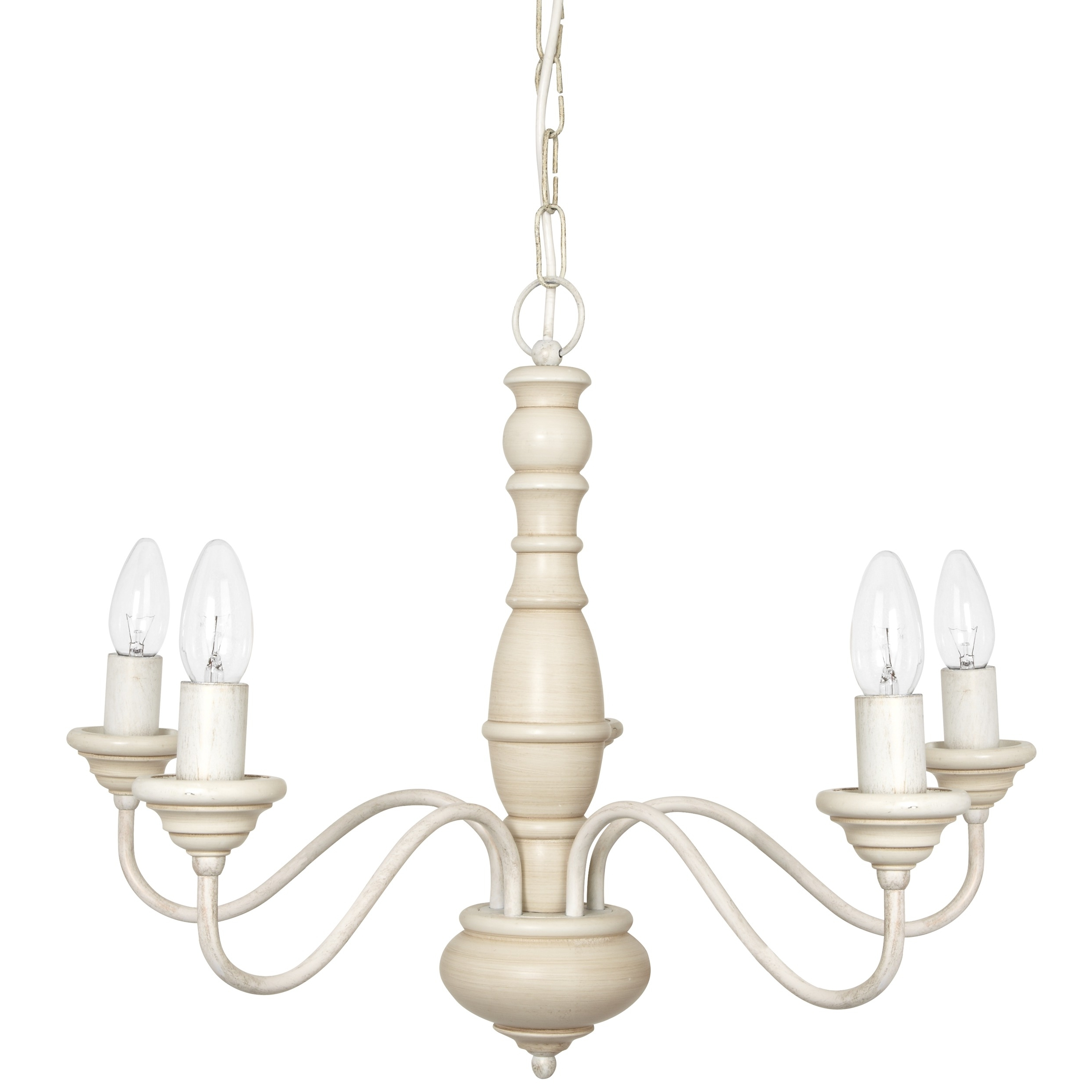 Milnsbridge Cream 5 Light Chandelier At Laura Inside Cream Chandelier Lights (View 10 of 20)