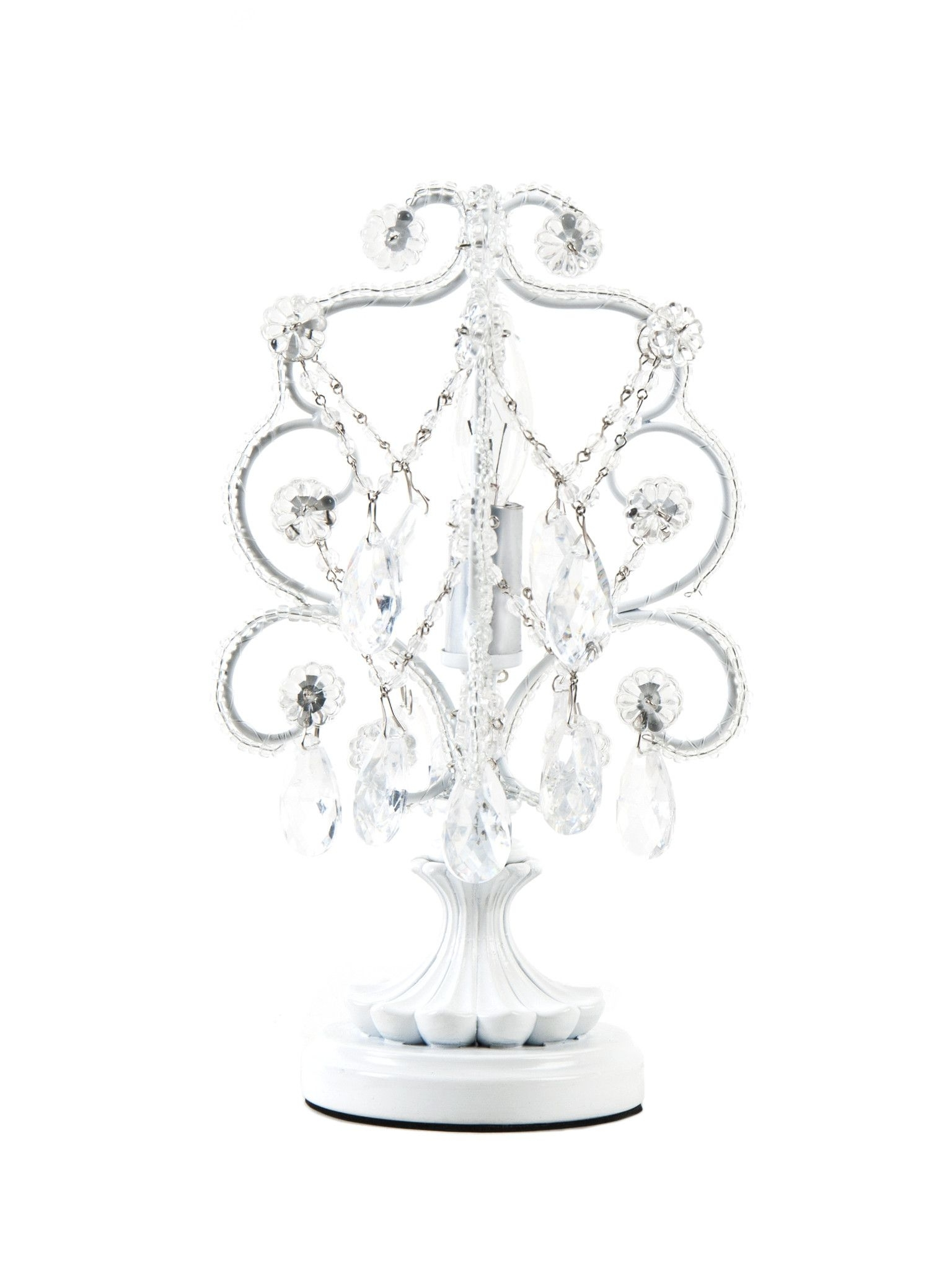 Mini Chandelier Table Lamps For Widely Used Mini Chandelier Table Lamp (View 7 of 20)
