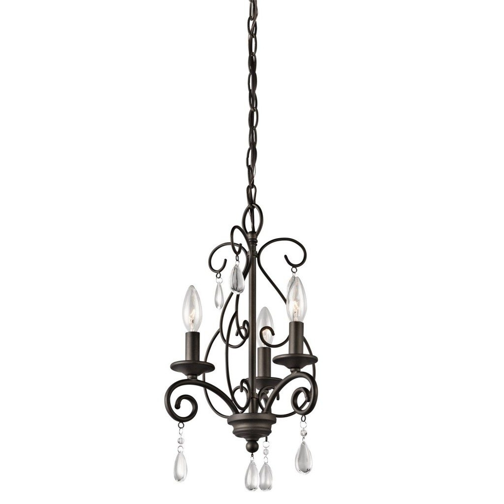 Mini Crystal Chandelier > $ (View 9 of 20)