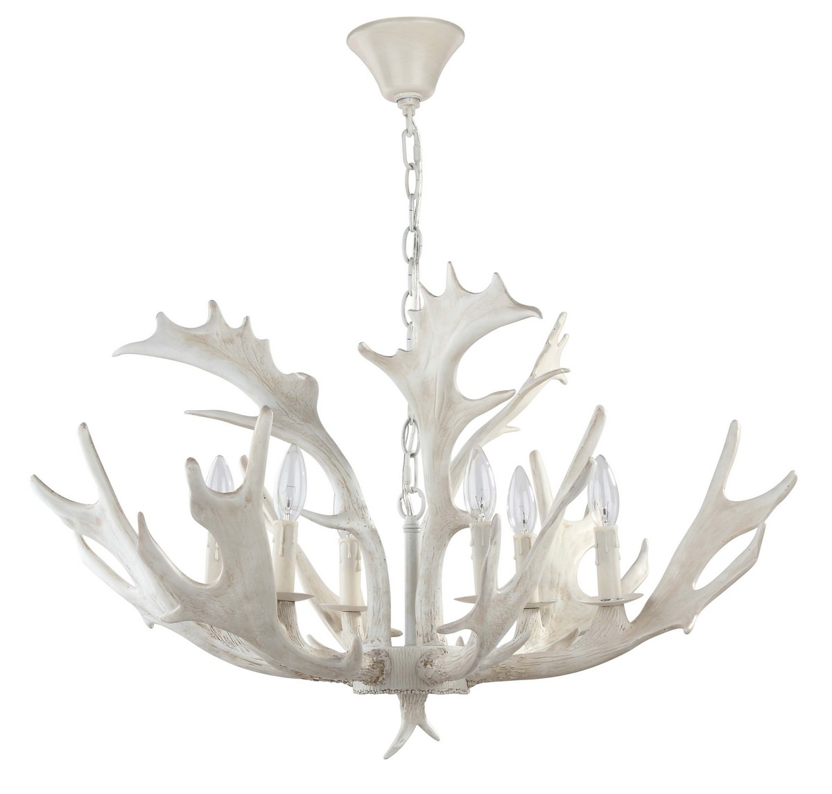Modern Antler Chandelier Throughout Most Current Cha4003A Chandeliers – Lightingsafavieh (View 9 of 20)