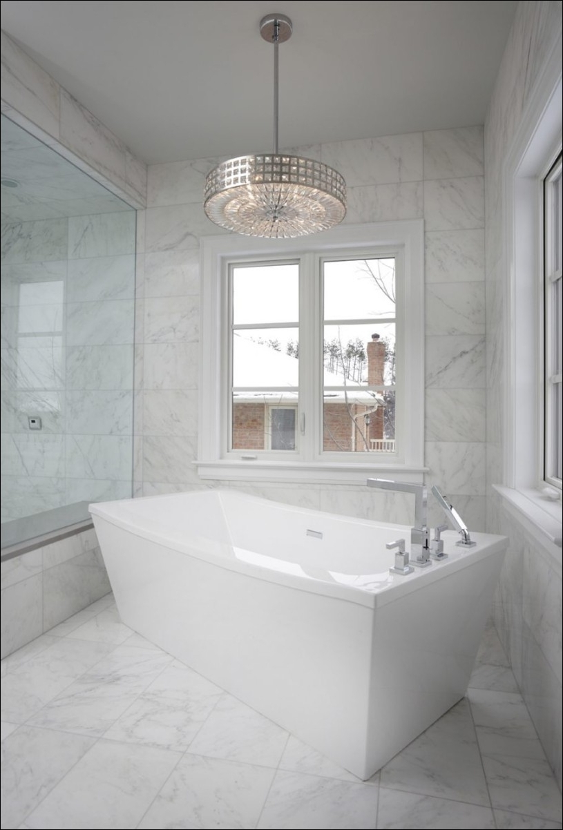 Modern Bathroom Chandeliers Intended For Famous Modern Bathroom Chandeliers – Pixball (View 10 of 20)