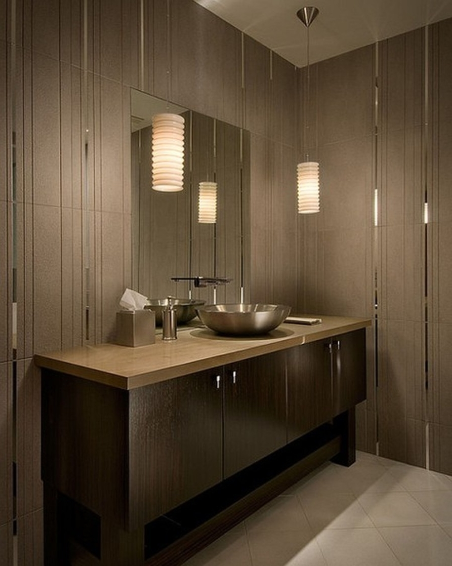 Modern Bathroom Chandeliers Throughout Preferred Ceiling Lighting Ideas Long Bathroom Vanity Lights Small Toilet (View 11 of 20)