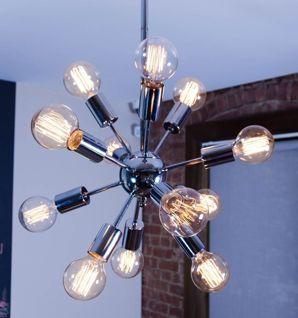 Modern Retro Within Best And Newest Mini Sputnik Chandeliers (View 4 of 20)