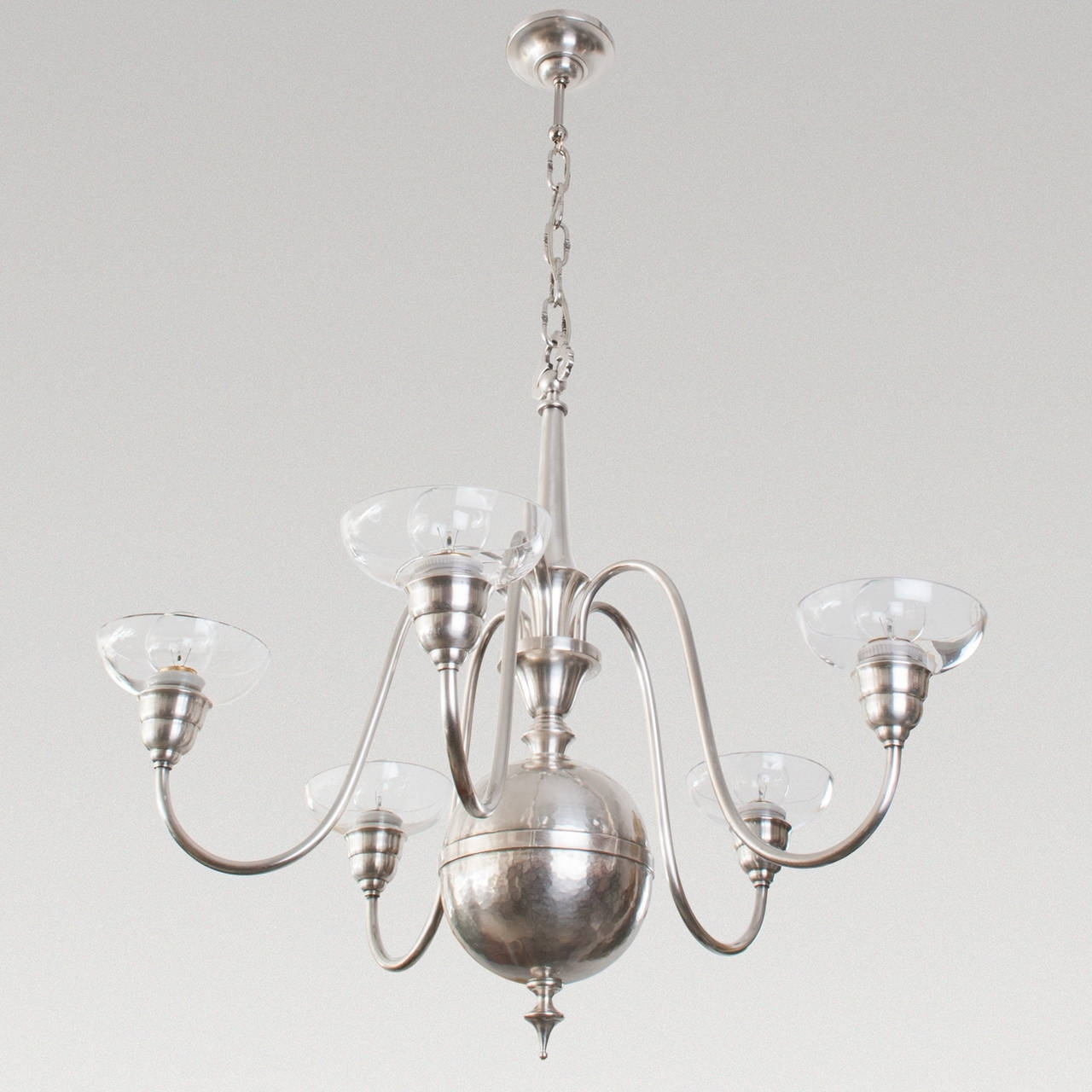 Modern Silver Chandelier Pertaining To Most Recently Released Modern Silver Chandelier : Chandelier Gallery (View 8 of 20)