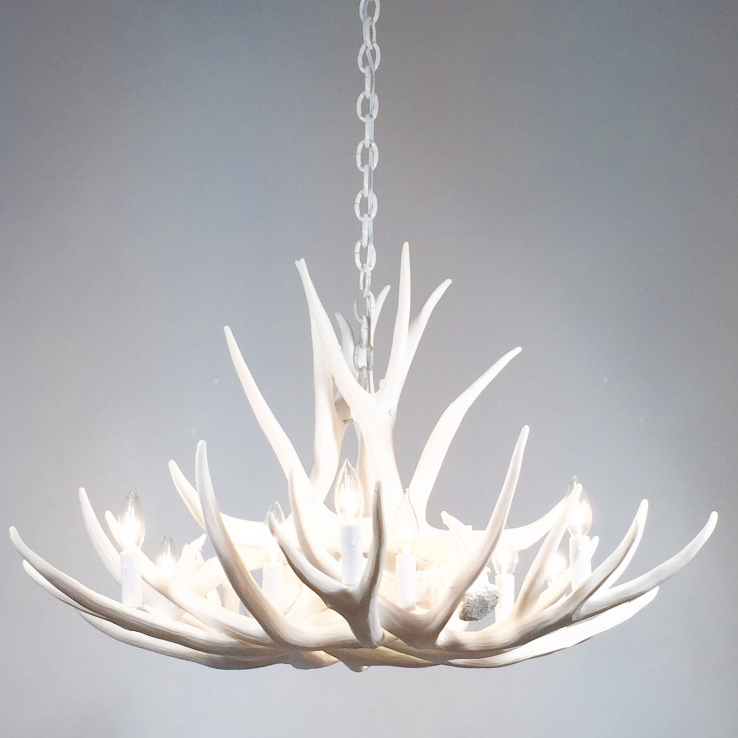 Modern White Chandelier For Most Recent Contemporary Chandeliers On (View 10 of 20)