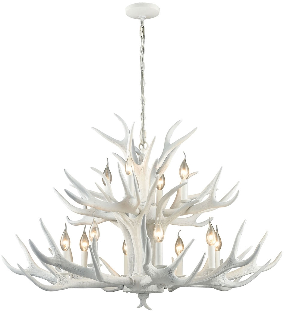 Modern White Chandelier Regarding Newest Modern White Chandelier (View 12 of 20)