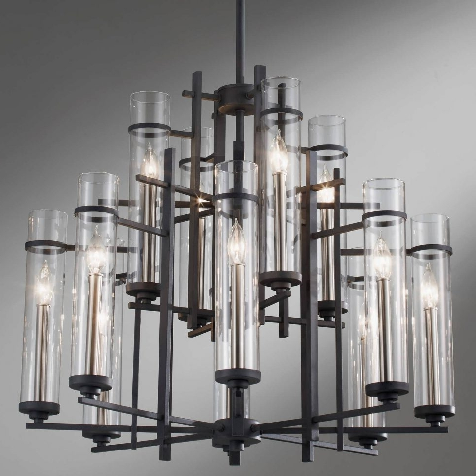Modern Wrought Iron Chandeliers With Regard To Well Known Chandelier : Coastal Chandeliers Sconces Light Fixtures Wrought Iron (View 3 of 20)