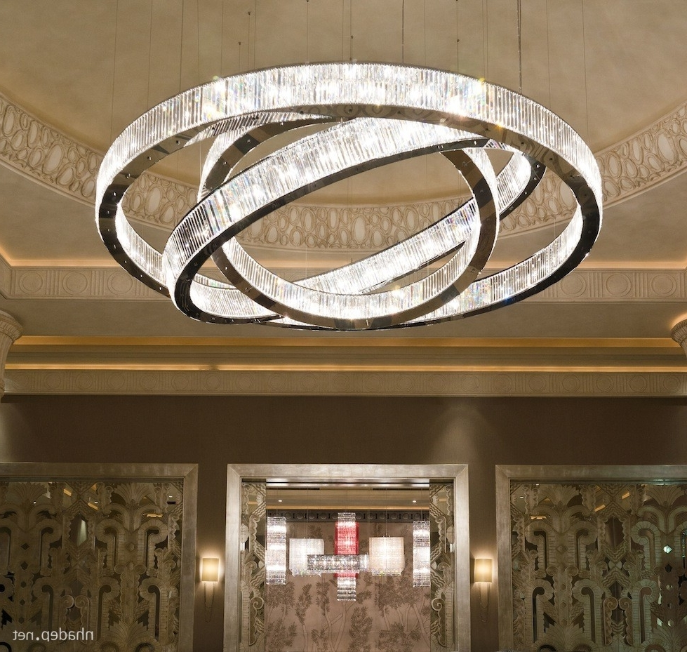 Most Beautiful Hanging Crystal Chandeliers (View 7 of 20)