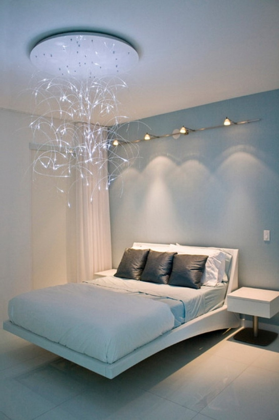Most Current Bedroom Chandeliers Throughout Chandeliers Design : Fabulous Bedroom Ceiling Fans With Lights (View 16 of 20)