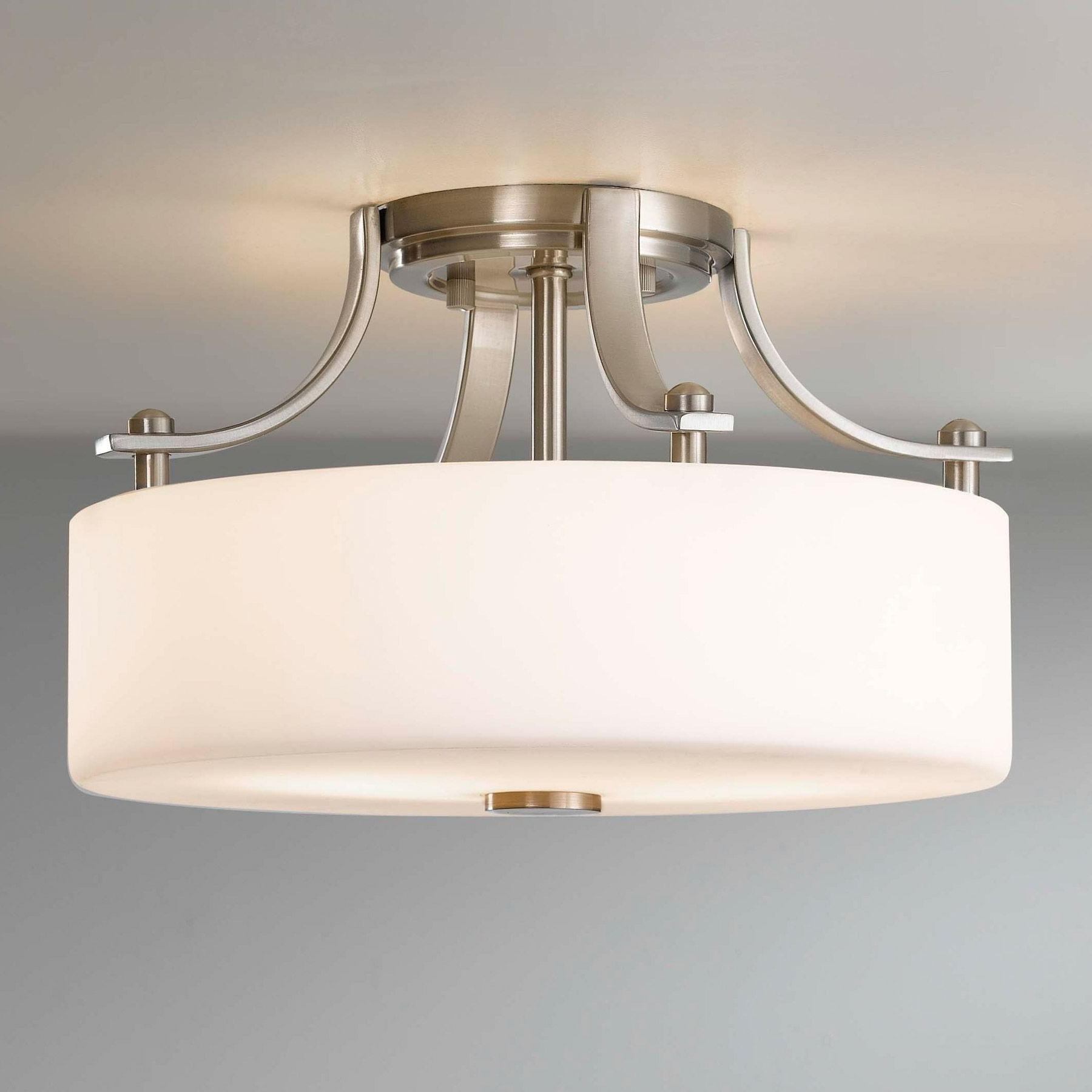 Most Current Chandelier Bathroom Ceiling Lights Intended For Bathroom Ceiling Light Fixture – Inspirational White Flushmount (View 6 of 20)
