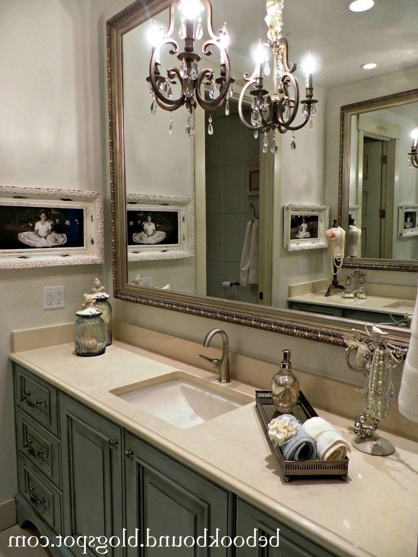 Most Current Chandelier Bathroom Vanity Lighting (View 20 of 20)