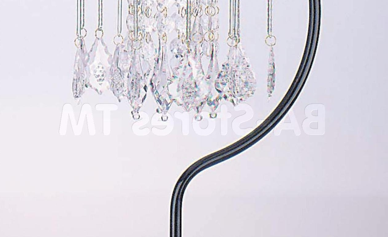 Most Current Chandeliers Design : Awesome Faux Crystal Chandelier Table Lamp Intended For Faux Crystal Chandelier Table Lamps (View 16 of 20)