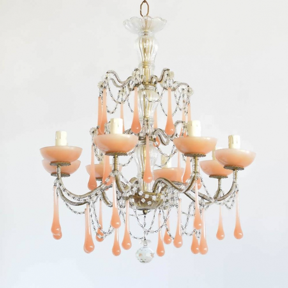 Most Current Cream Crystal Chandelier Pertaining To Chandelier ~ Chandelier : Chandelier Shades Cream Chandelier Led (View 11 of 20)