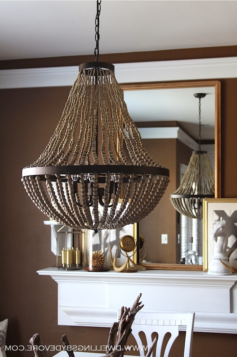Most Current Diy Turquoise Beaded Chandeliers With Regard To Diy Turquoise Beaded Chandelier – Chandelier Designs (View 7 of 20)
