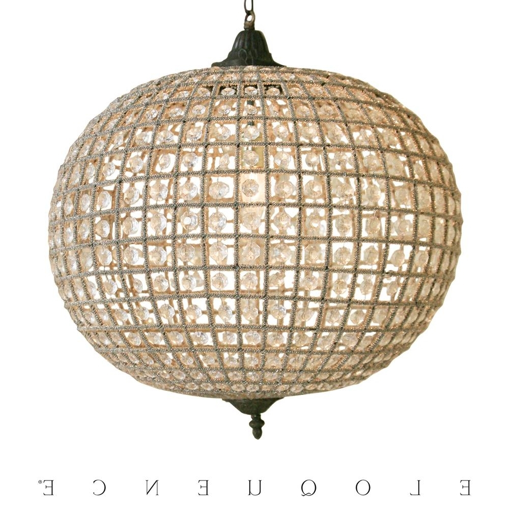 Most Current Eloquence Large Globe Chandelier (View 3 of 20)
