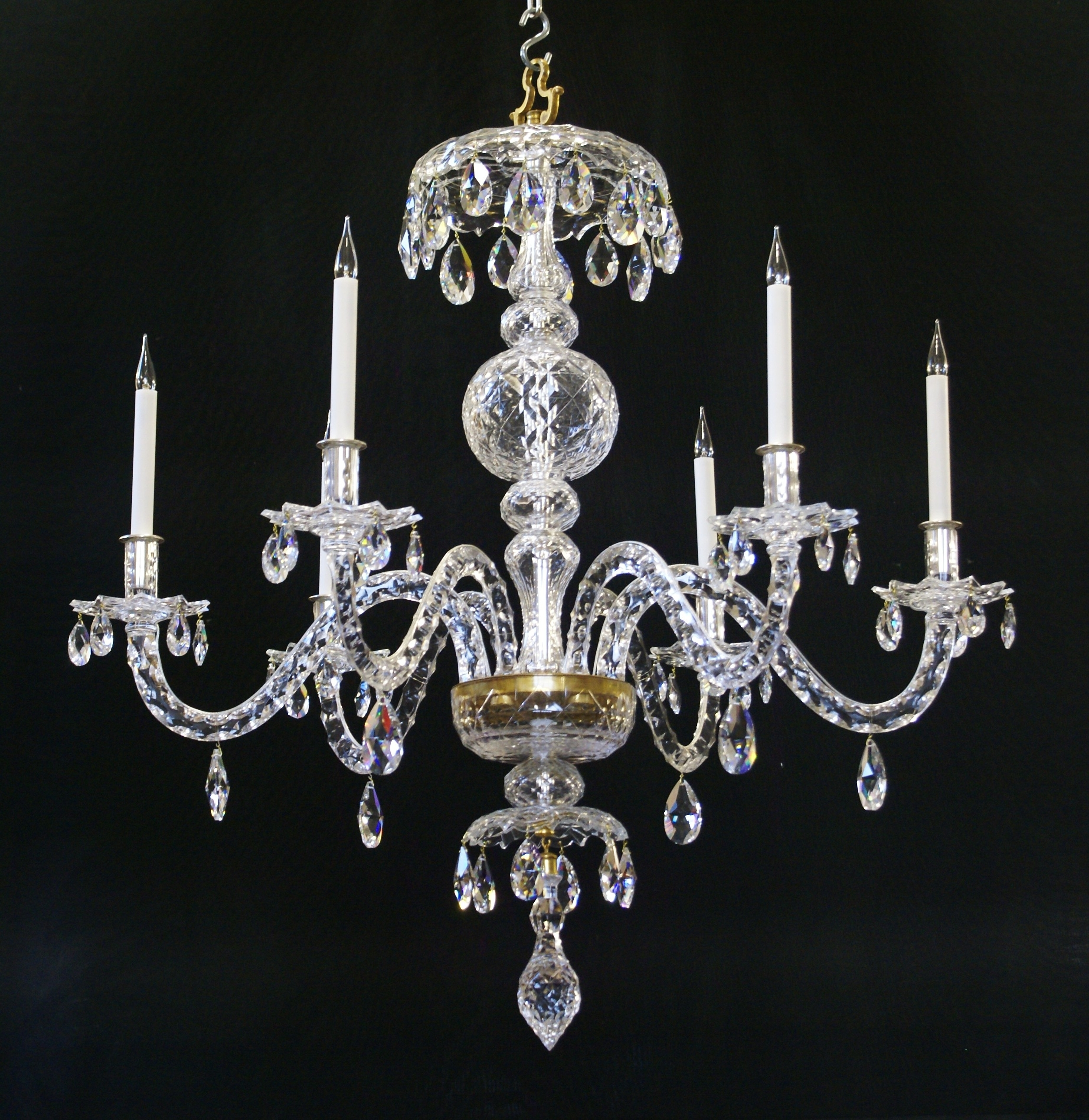 Most Current Georgian Chandeliers With Restored Chandeliers And Lightingwilkinson Plc (View 11 of 20)