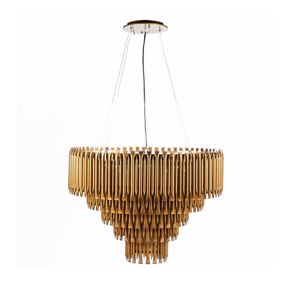Featured Photo of Gold Modern Chandelier