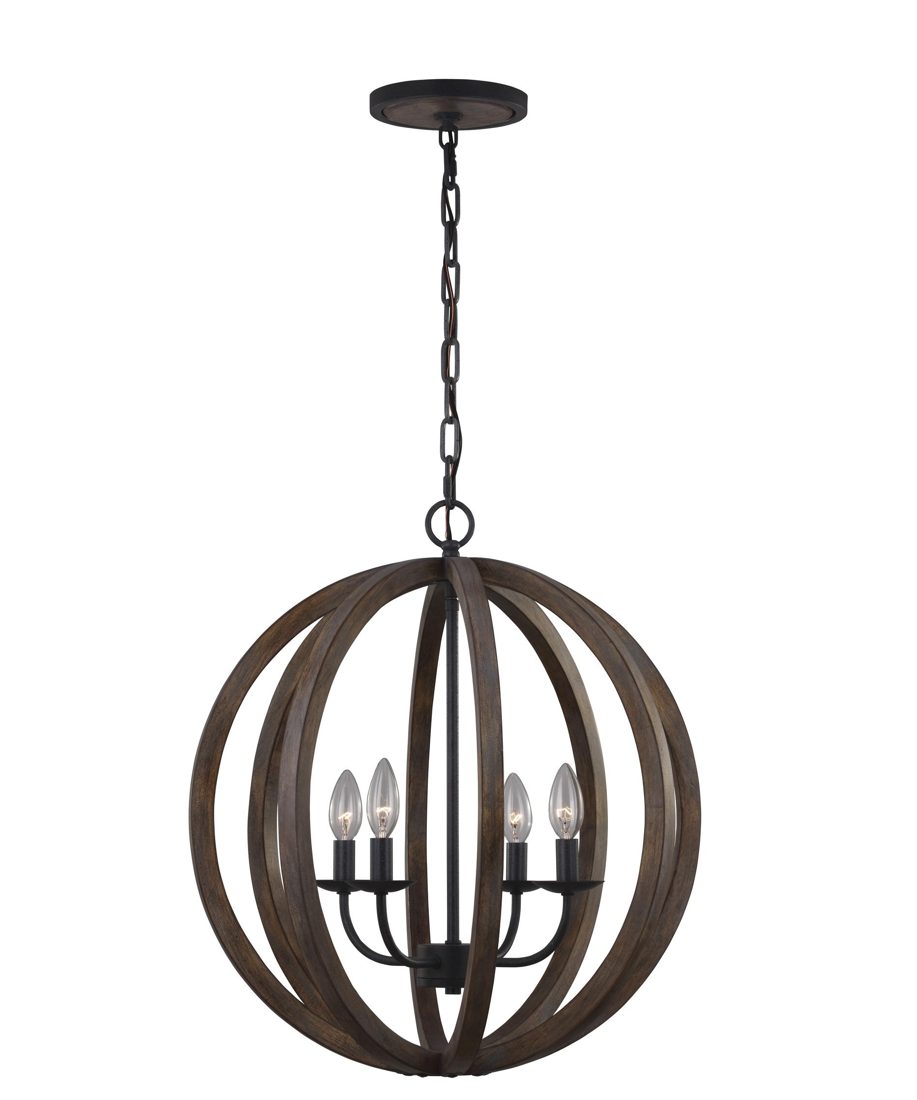 Most Current Murray Feiss F2935 4 Allier 21 Inch Wide 4 Light Mini Chandelier Regarding Feiss Chandeliers (View 1 of 20)