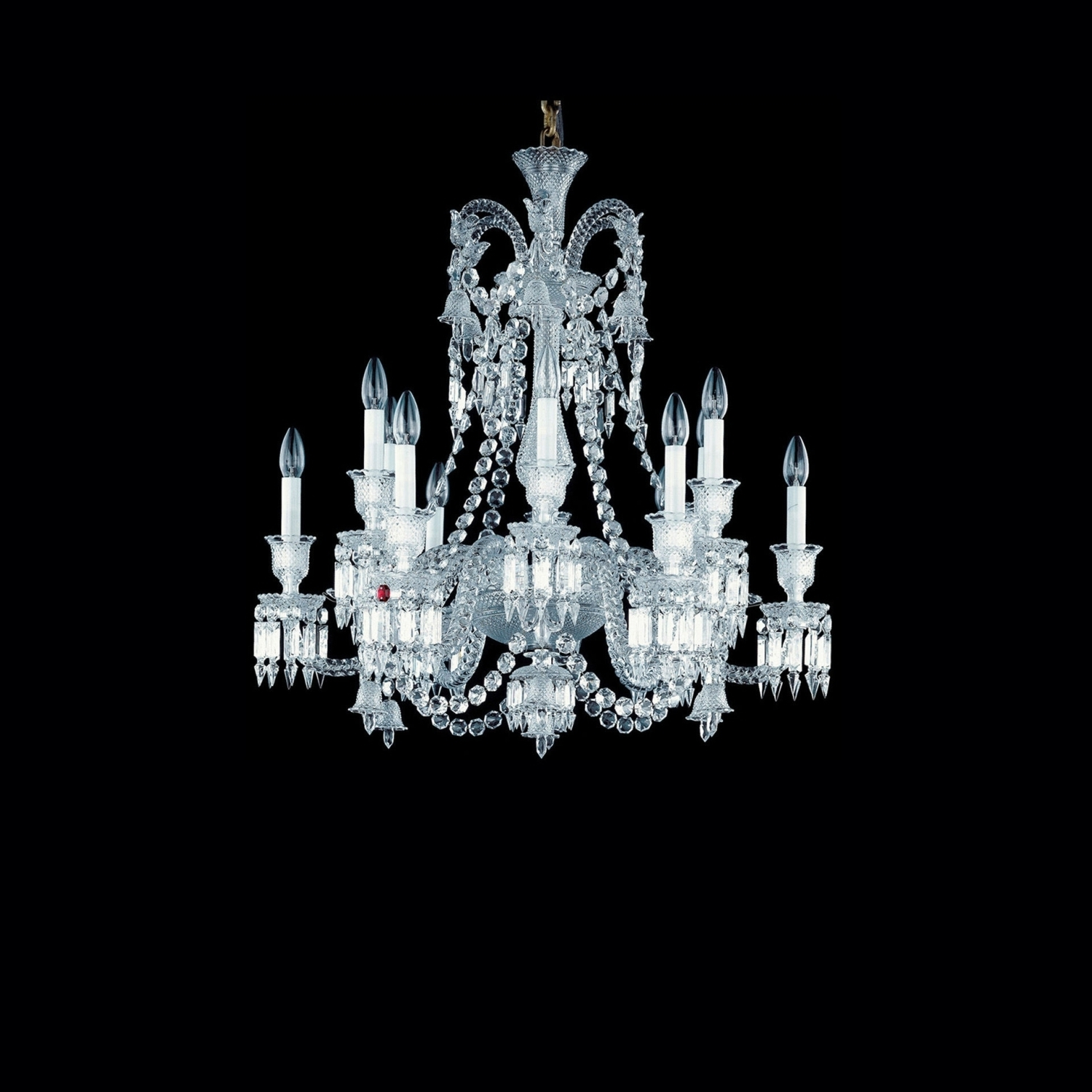 Most Current Short Chandelier Lights In Chandelier Clear 12L Baccarat Zenith  (View 9 of 20)