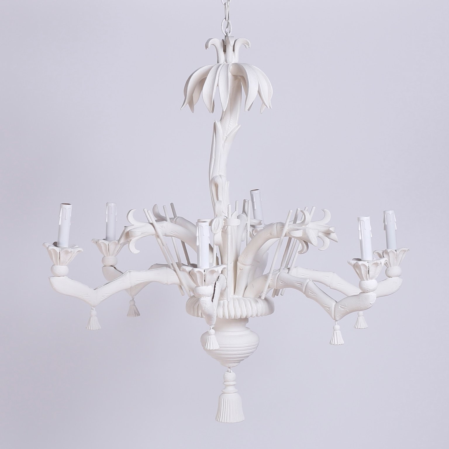 Most Current White Palm Tree Chandelier At 1stdibs In Chinoiserie Chandeliers (View 9 of 20)