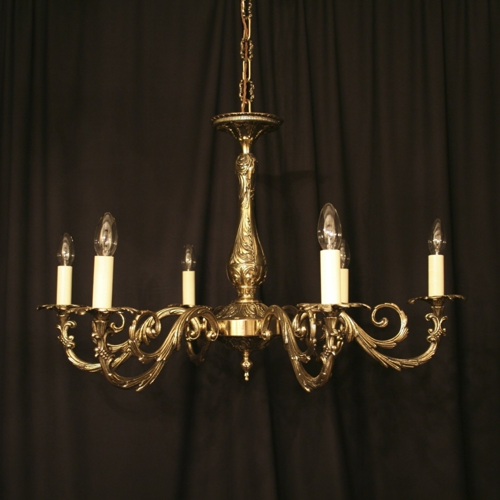 Most Popular Antique Brass Chandeliers For Sale (View 20 of 20)