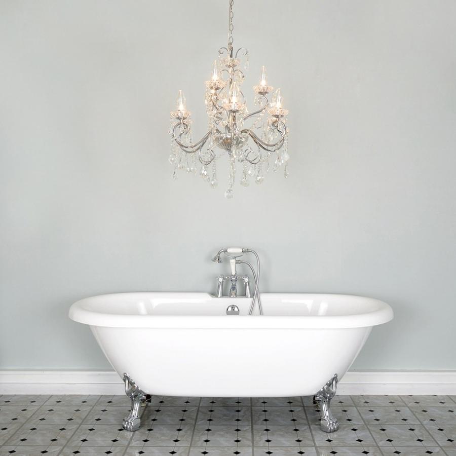 Most Popular Bathroom Chandelier Lighting Pertaining To Chandelier (View 8 of 20)