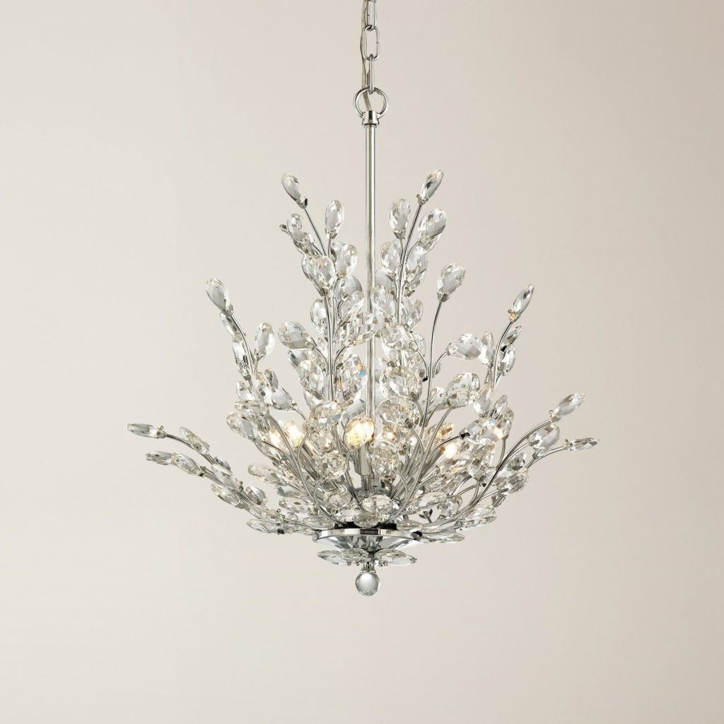 Most Popular Chandelier ~ 15 Collection Of Crystal Branch Chandelier (View 2 of 20)