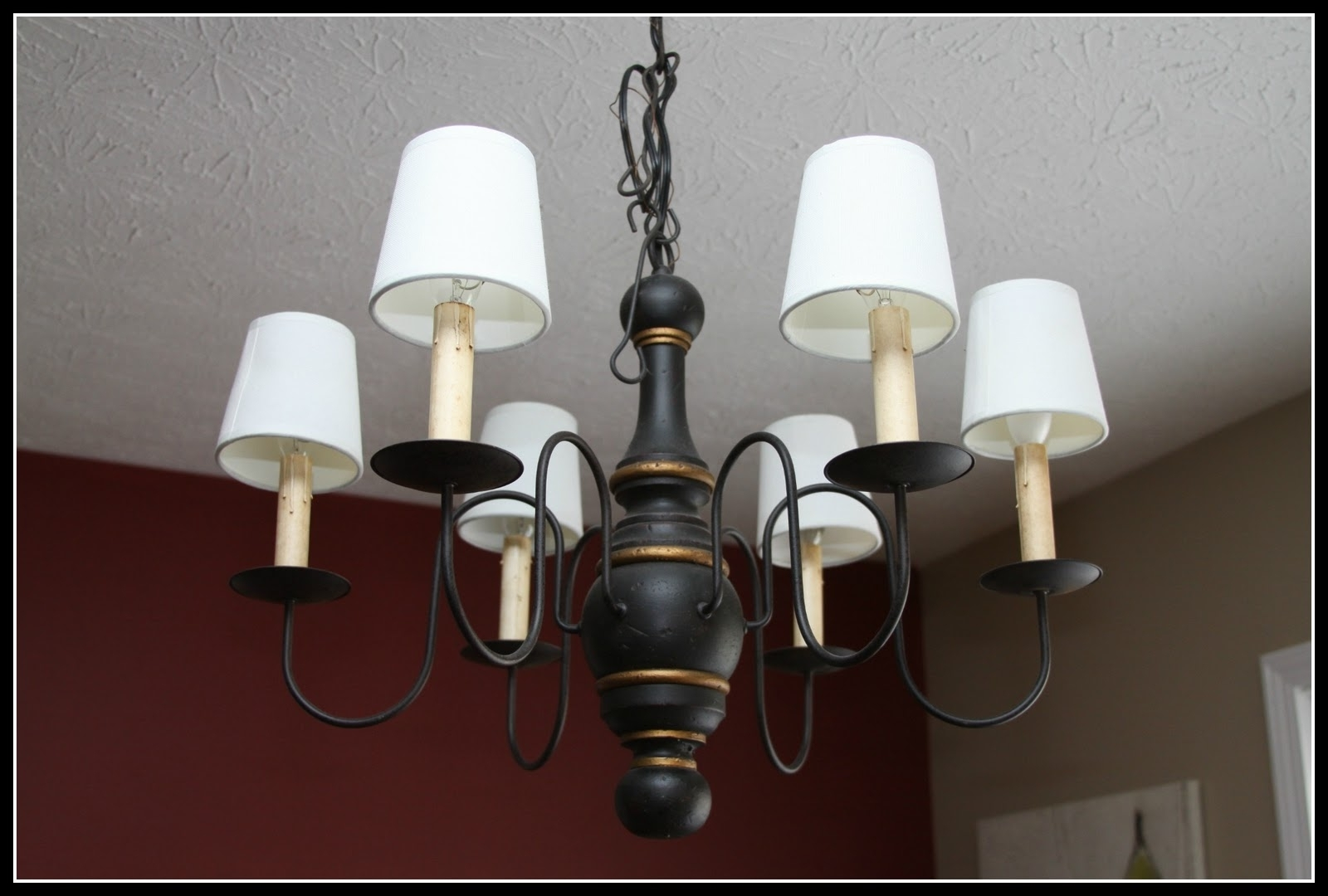 Most Popular Chandeliers With Lamp Shades Intended For Cool Lamp Shades For Chandeliers Hanging Lamp Shade Six Lamps And (View 4 of 20)