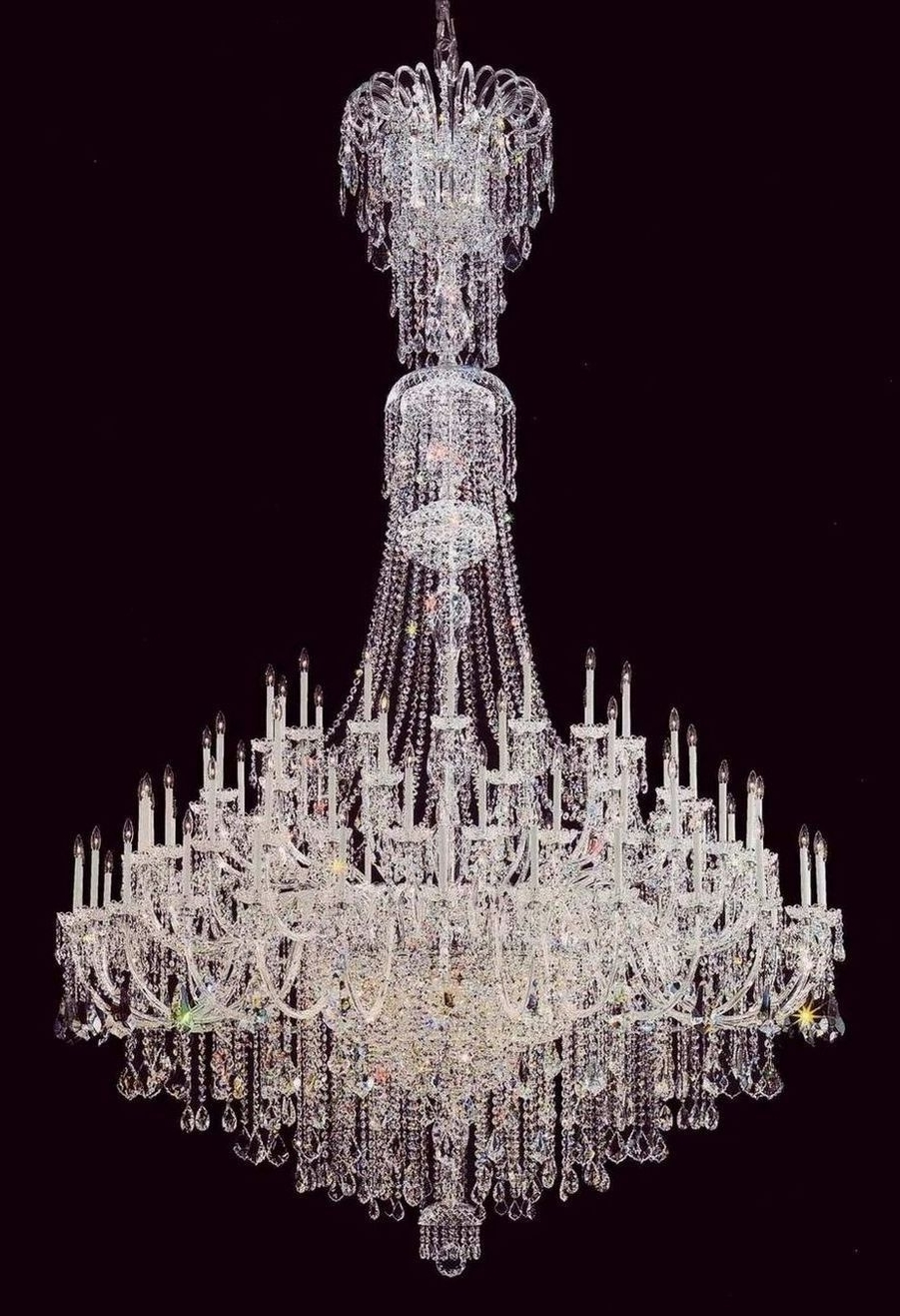 Most Popular Cheap Foyer Crystal Chandelier, Buy Quality Foyer Chandelier Pertaining To Huge Chandeliers (View 15 of 20)